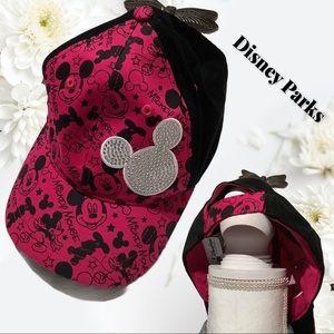 Authentic Disney Parks - Pink bling Mouse cap 💎